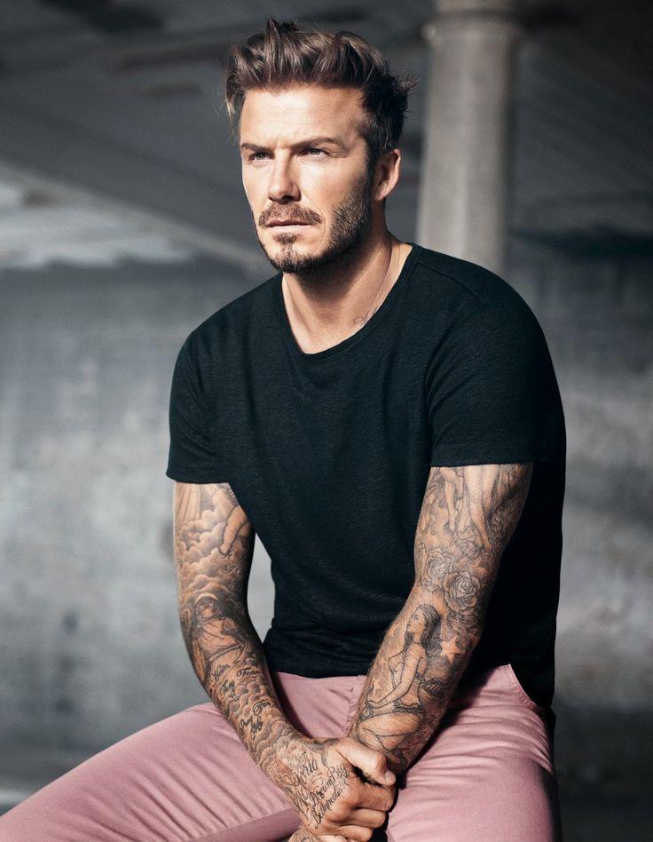 Cultures Hommes: David Beckham pour H&M
