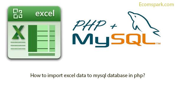How to import excel data to mysql database in php? |