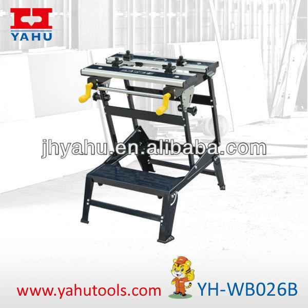 6 Position Height Adjustable Aluminium And Steel Bench Top Folding Workbench For Woodworking With Bench Vise , Find Complete Details about 6 Position Height Adjustable Aluminium And Steel Bench Top Folding Workbench For Woodworking With Bench Vise,Folding Workbench,Workbench Design,Workbench For Sale from Woodworking Benches Supplier or Manufacturer-Jinhua Yahu Tools Co., Ltd.