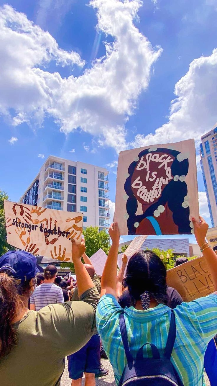 Black Lives Matter Is Not A Trend Blm Wallpaper Tattoo Pfp Protest Signs Ideas Wall Art Post In 2021 Black Lives Matter Art Black Lives Matter Protest Protest Art