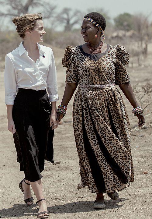 Emma Watson visits Malawi