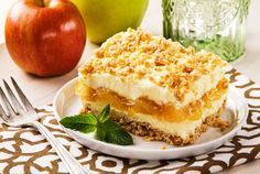 Apfel-Käsekuchen - smarter - Zeit: 50 Min. | eatsmarter.de