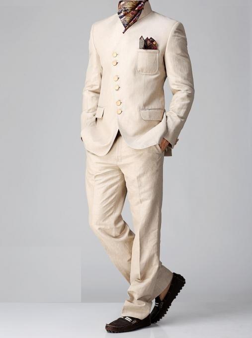 Linen Designer Jodhpuri Suit  $219