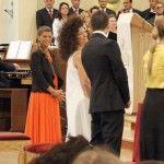 Alessandra Amoroso in lacrime al matrimonio della sorella Francesca