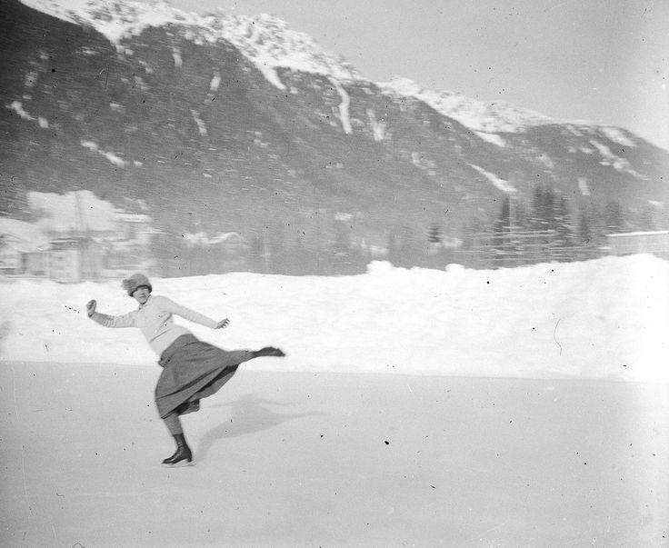La patineuse — Le chronoscaphe
