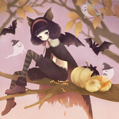 「happy helloween!」/「シュシュ」のイラスト [pixiv]