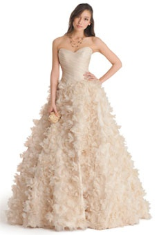 you can even get a pale pink dress!