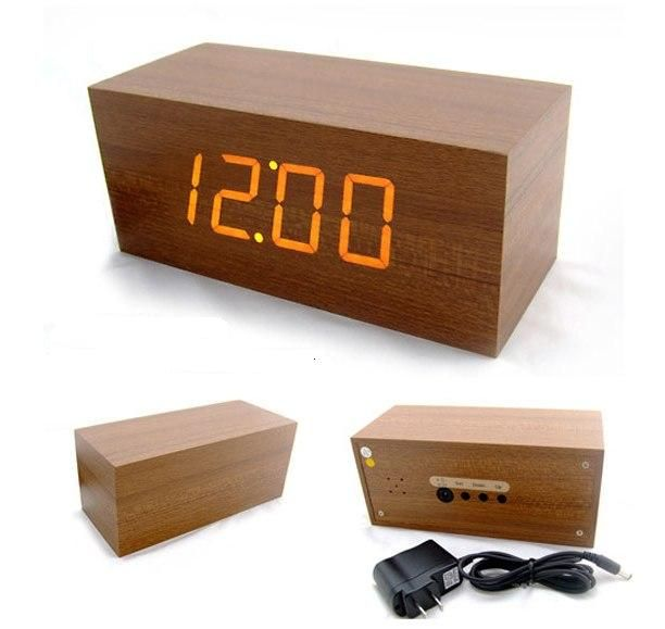 12 best images about cool alarm clocks on pinterest for Cool nightstand clocks