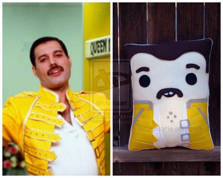 Stitchgasm - Freddie Mercury Pillow