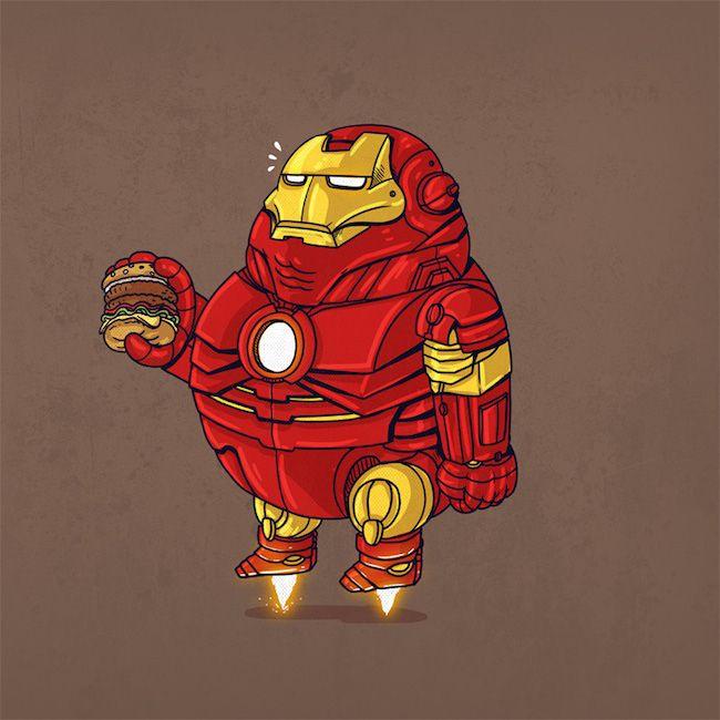 Chunky Iron Man