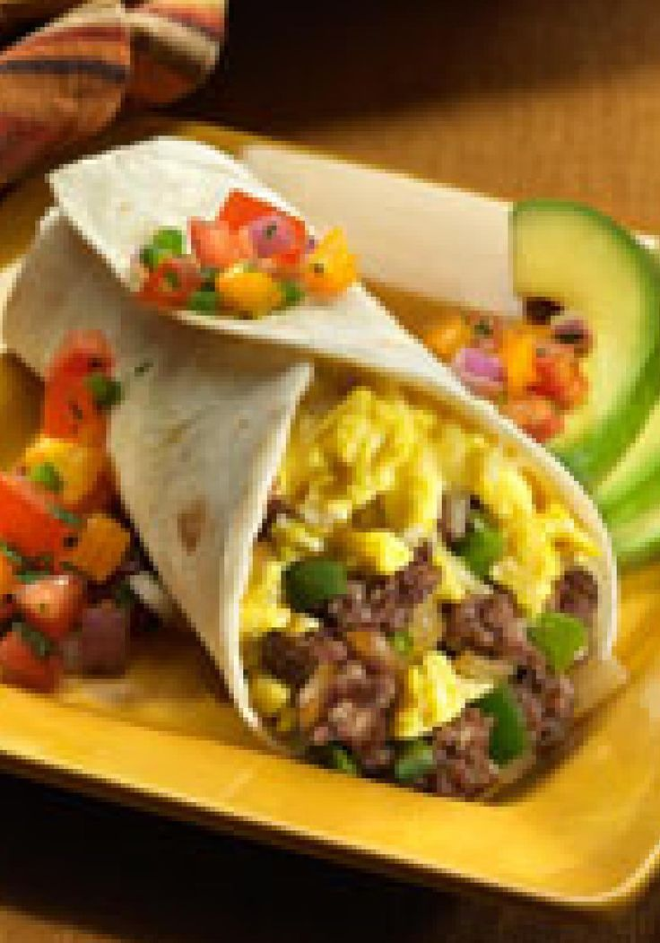 Breakfast Burrito — Spice up your boring morning routine ...