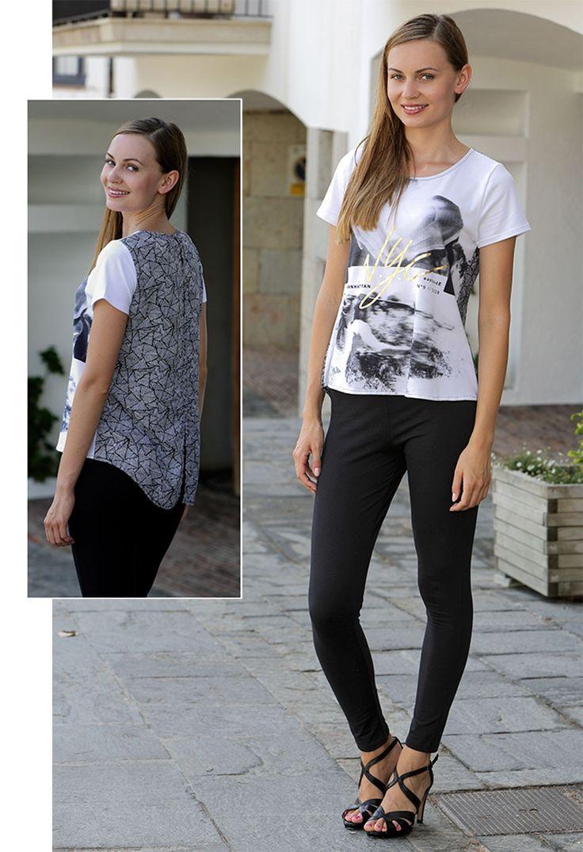 Camiseta mujer estampada #streetstyle #massana