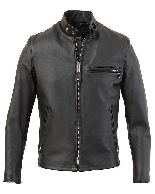 Schott NYC - Single Rider Steerhide leather Motorcycle Jacket 644
