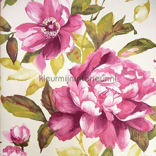 Aquarel bloemen 13023 | behang Aquarella van Noordwand | kleurmijninterieur.nl