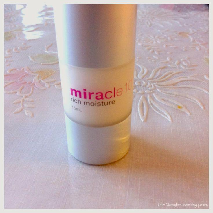 Miracle 10 Skincare Rich Moisture (15ml, Value $40 dollars)