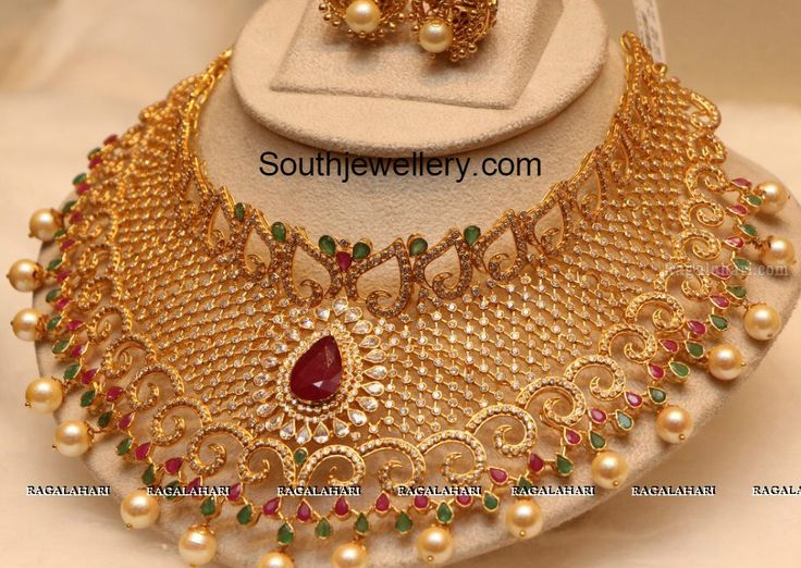 antique gold jewellery designs - Google Search