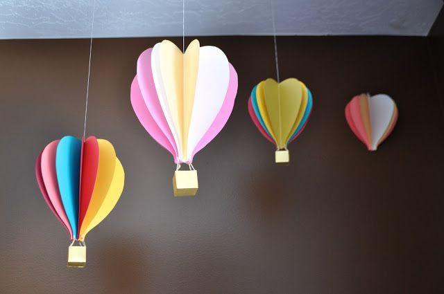 #Knutselen#Luchtballonnen#Zomer
