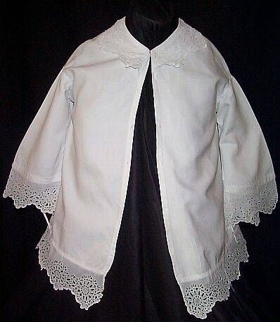 This cotton jacket would be worn over a garibaldi blouse1860S Fashion
