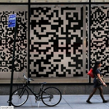 Inspiration QR code - Street Marketing