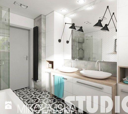 Aranżacje wnętrz - Łazienka: świetlista łazienka - MIKOŁAJSKAstudio. Przeglądaj, dodawaj i zapisuj najlepsze zdjęcia, pomysły i inspiracje designerskie. W bazie mamy już prawie milion fotografii!