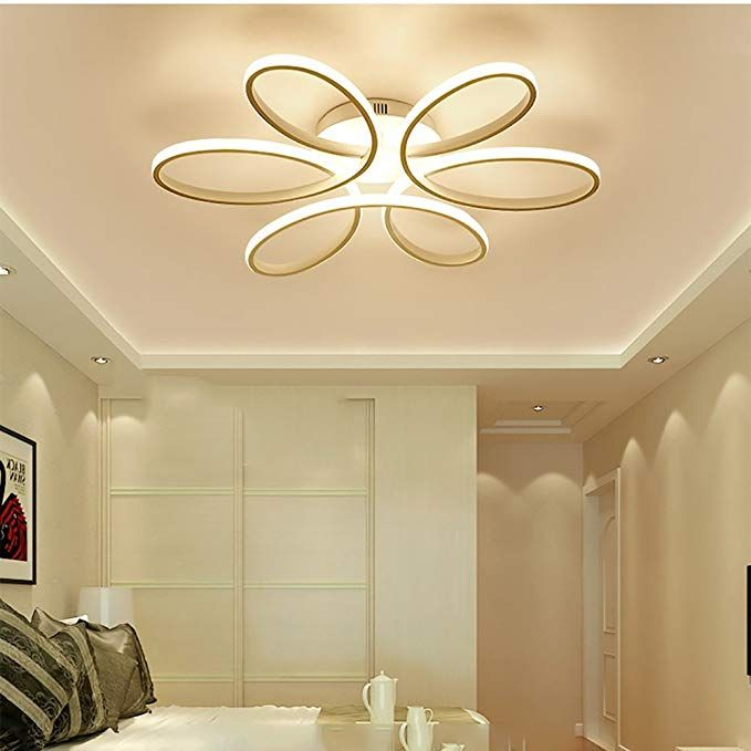Lxsehn Led Ceiling Light Living Room Lamp Atmospheric Bedroom Lights Warm And Romantic Home Creat Ceiling Lights Living Room Ceiling Lights Lamps Living Room