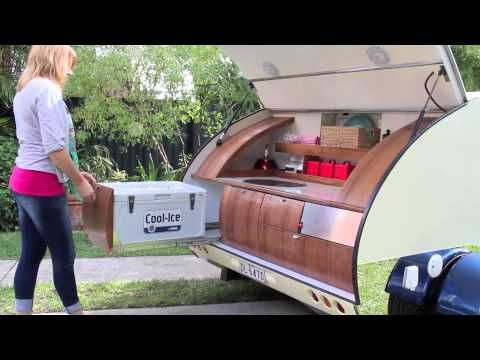 Gidget Retro Teardrop Camper - July 2013 - YouTube This has an awesome design!