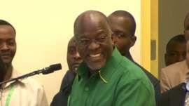 Works Minister John Magufuli, CCM Party
