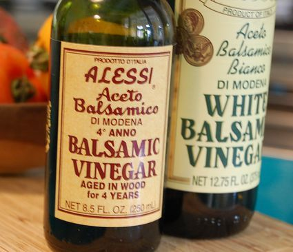 This white balsamic vinaigrette is an easy and delicious salad dressing, and it's made with white balsamic vinegar rather than the usual dark variety.