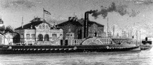 Bremerhaven.de – History of the ferry service Bremerhaven-Blexen