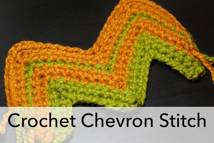 The EASIEST crochet chevron stitch tutorial ever! Video tutorial too!