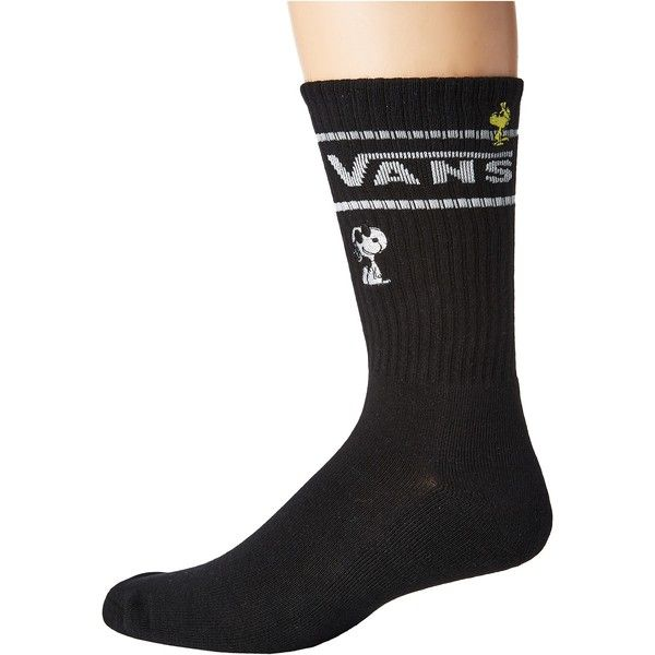 Vans Vans X Peanuts Crew 1-Pack (Peanuts) Men's Crew Cut Socks (52.555 COP) ❤ liked on Polyvore featuring men's fashion, men's clothing, men's socks, mens navy blue socks, mens navy blue crew socks, mens socks and mens crew socks