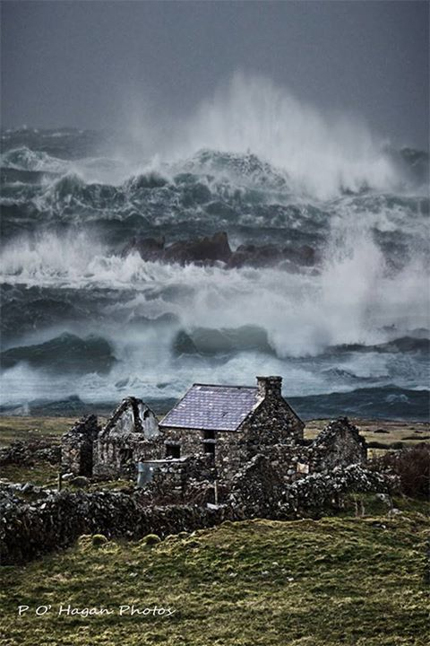Fanad Head, County Donegal, Ireland. Stay above water, you're almost there. :)