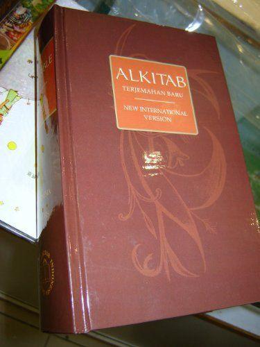 BEAUTIFUL HUGE Brown Indonesian - English Bilingual Bible BUY IT NOW!!  / ALKITAB Holy Bible Terjemahan Baru - New International Version / TB - NIV / INDONESIA - INGGRIS / Thumb index (Indonesian) Hardcover – 2009