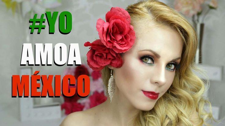 Nuestra Paola Herrera nos preparo un tutorial de maquillaje para celebrar a Mexico! mira el video y compartelo usando el #yoamoamexico