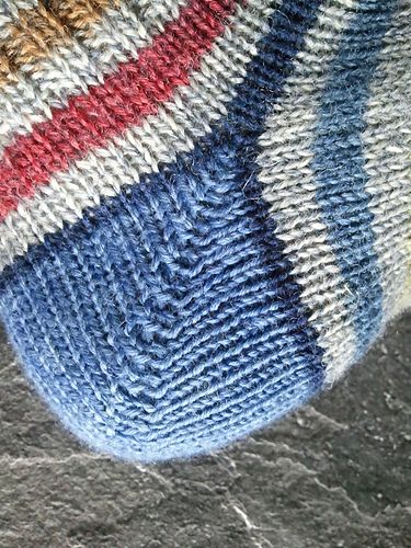 Sock Heels Perfected!!! An innovative, new method for knitting perfectly-fitting, beautiful, simple heels. And the eBook is only $1.00!!! Come join the Sox Therapy group to see photos and join a fishy kissy knit-along.