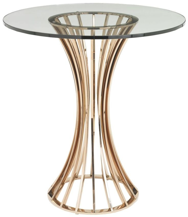 Buy RV Astley Lanza Shiny Rose Side Table Online By R V Astley From CFS UK  At Unbeatable Price.