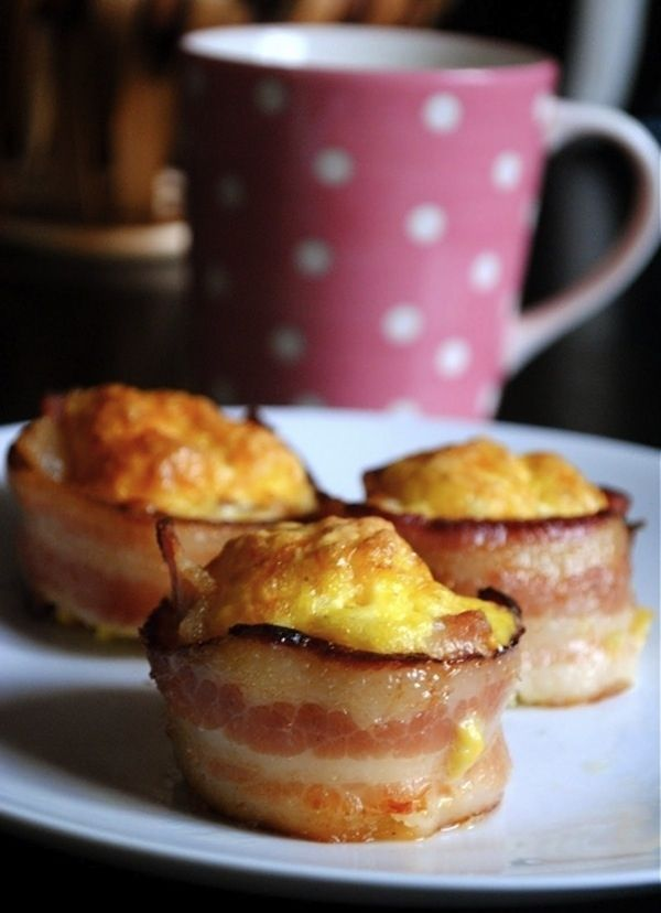 Bacon Egg Cups | 21 Fun Foods To Make With Kids For Mother's Day