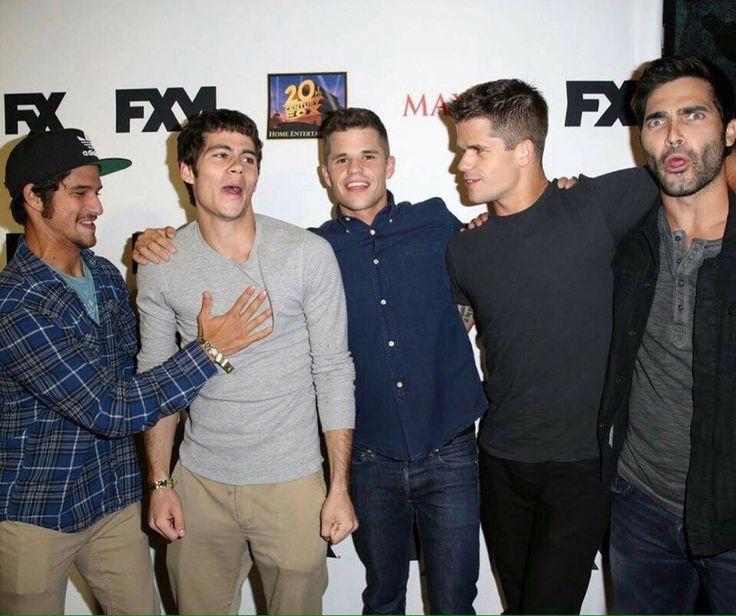 Cast Teen Wolf.