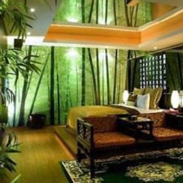 Superior Jungle Bedroom!