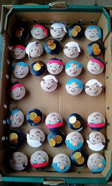 jake and the neverland pirates cakes | Jake and the Neverland Pirates cupcakes | Flickr - Photo Sharing!