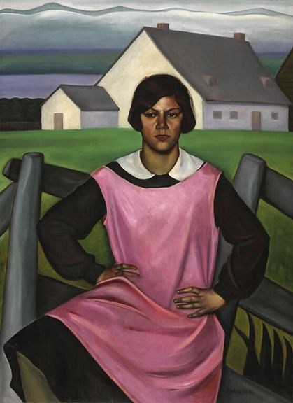 "Prudence Heward - Rollande (1929) Prudence Heward (July 2, 1896 – March 19, 1947) Prudence Heward (July 2, 1896 – March 19, 1947)[1] was a Canadian painter principally known for her figure painting with ""brilliant acid colours, sculptural treatment, and an intense brooding quality"".[2] She was a member of the Beaver Hall Group and a co-founder of the Canadian Group of Painters and the Contemporary Arts Society.[3]"
