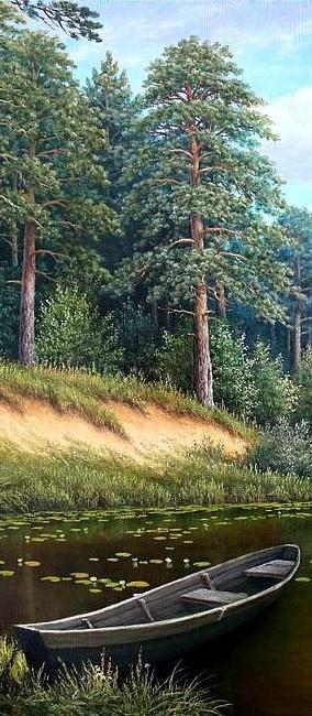 Pine paradise • artist: V. Koshelev