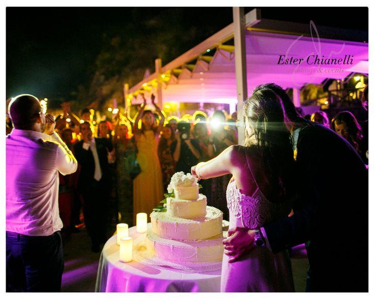 Wedding cake happiness | Ester Chianelli Weddings&Events | www.esterchianelli.com