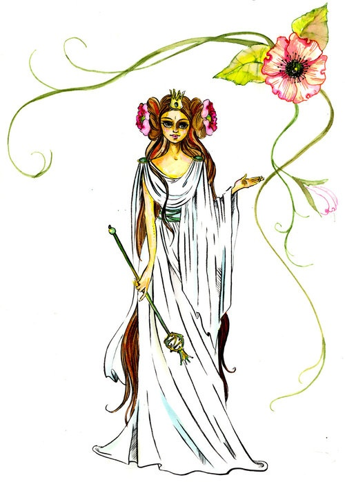 Floral Ozma by *angeldevilland