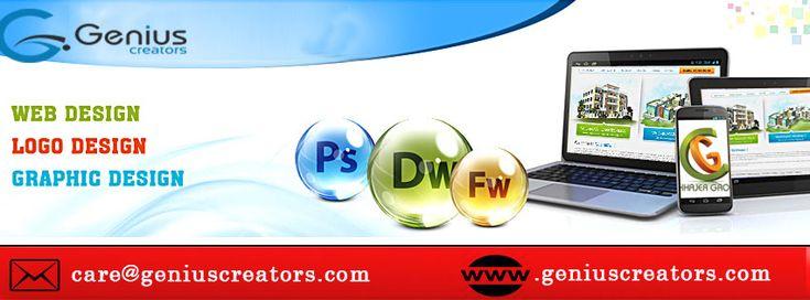 Genius Creators Provide Website Design Services Website Development Services #LogoDesign #GraphicDesign. #designservice #websitedesign #webdevelopment