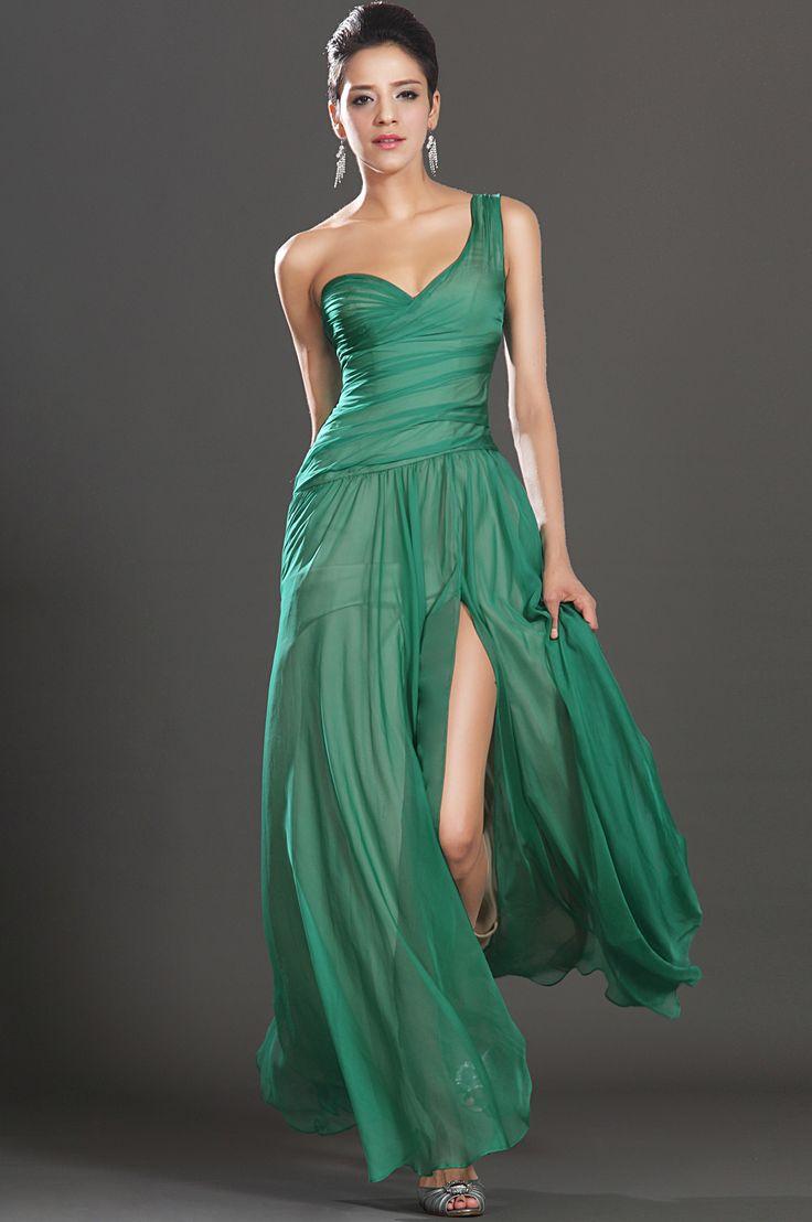 1000  ideas about Green Evening Dress on Pinterest  Green dress ...