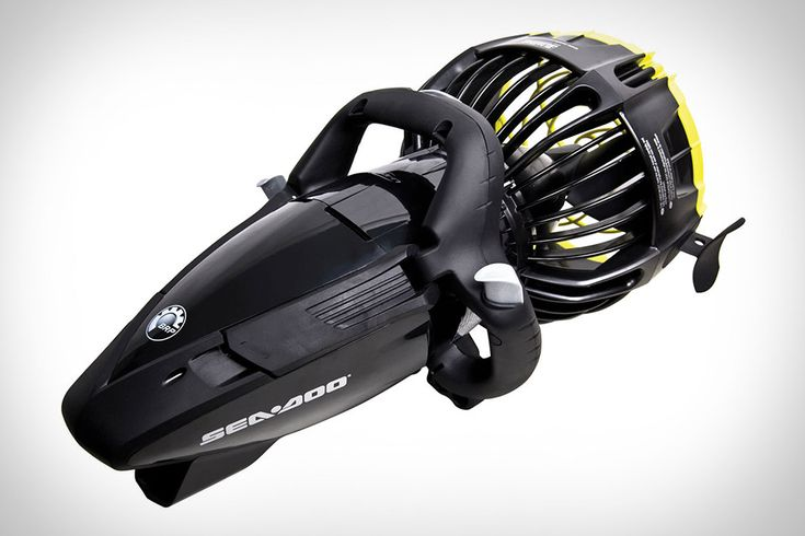 Make your next snorkeling trip far more exciting with the Sea Doo Underwater SeaScooter. Powered by a rechargeable lithium-ion battery, it can move you around at depths of up to 130 feet and at speeds of over 4 mph. It...