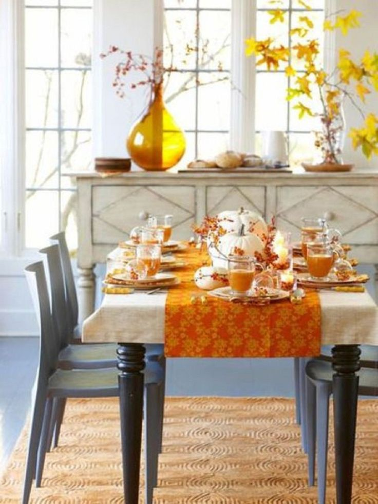Best Fall Dining Room Table Decorating Ideas Ideas   Home Design .