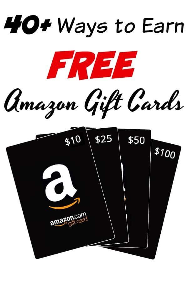 40 Tried True Ways To Earn Free Amazon Gift Cards Online Free Amazon Products Amazon Gift Card Free Earn Gift Cards