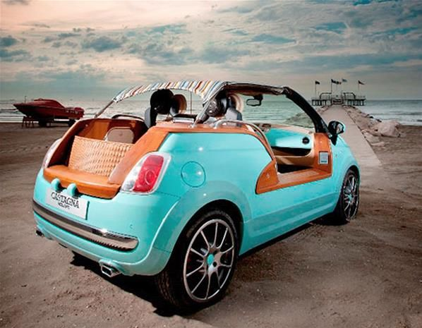 One-off Fiat 500 Tender 2 beach buggy - One-off Fiat 500 Tender 2 beach buggy - MSN Cars UK